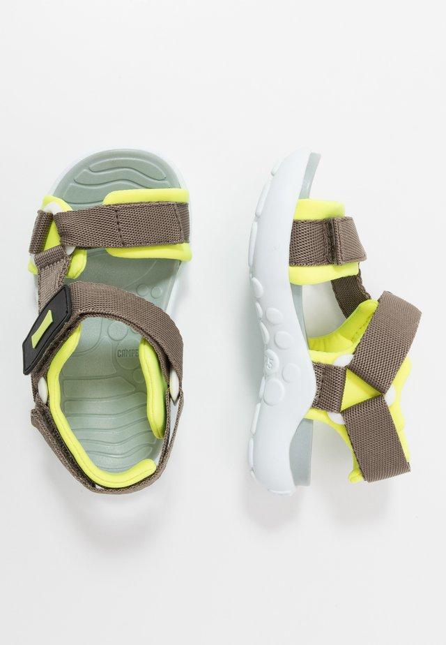 WOUS KIDS - Chodecké sandály - khaki