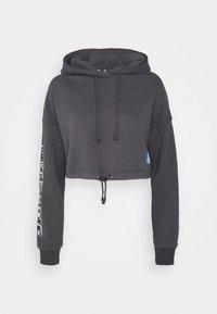 SIKSILK - SPACE JAM CROPPED HOODIE - Sweatshirt - dark grey - 6