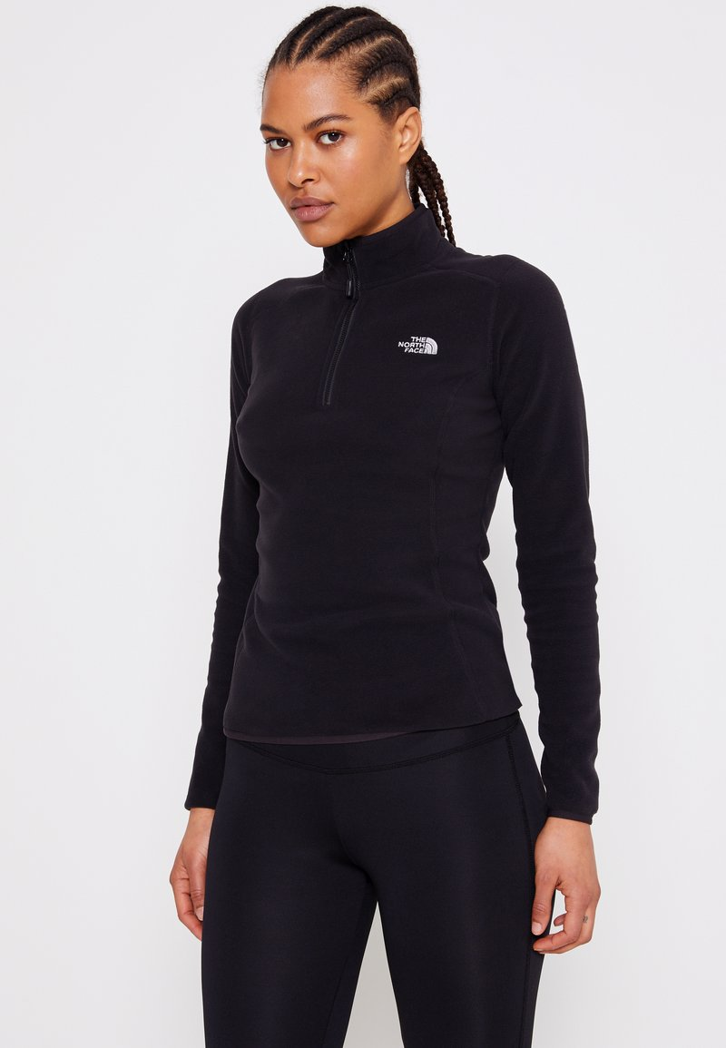 The North Face - GLACIER ZIP MONTEREY - Fleecetrøjer - black