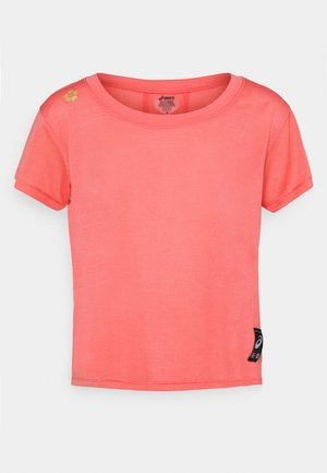 SAKURA CROP - T-shirt basic - peach petal