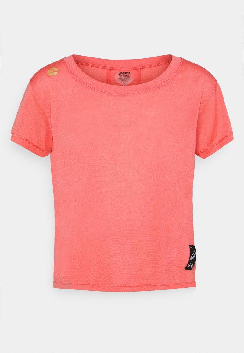 ASICS - SAKURA CROP - T-Shirt basic - peach petal