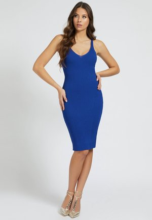 ANLIEGENDES - Shift dress - blau