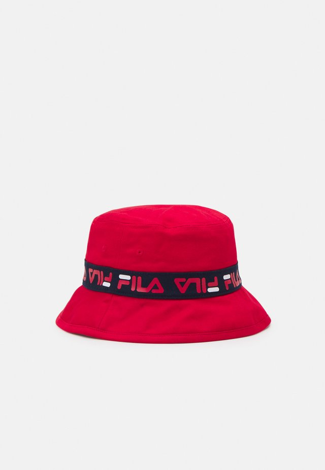 TAPED BUCKET HAT UNISEX - Hatt - true red