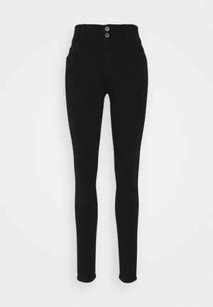 ONLRAIN LIFE - Jeansy Skinny Fit - black