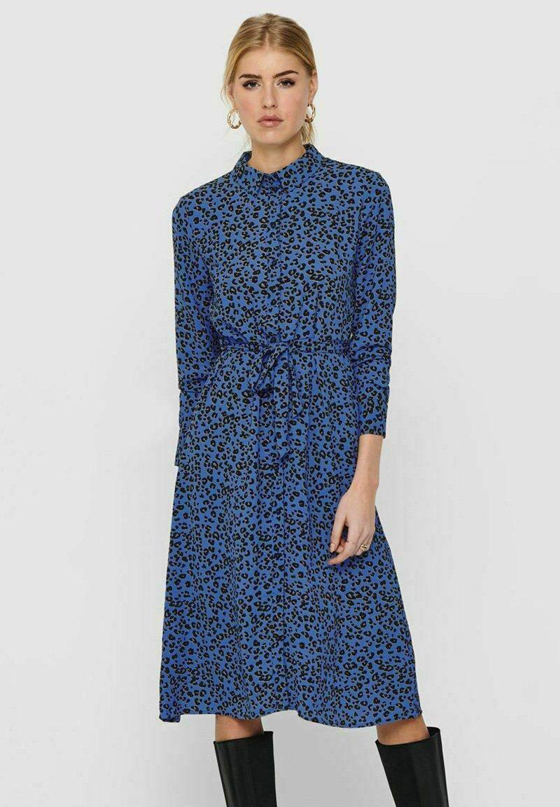 JDY - Sukienka z dżerseju - blue iolite