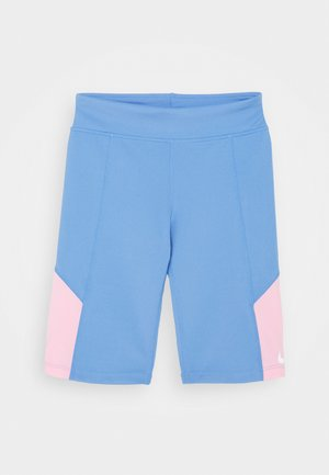 TROPHY BIKE SHORT - Legginsy - royal pulse/pink