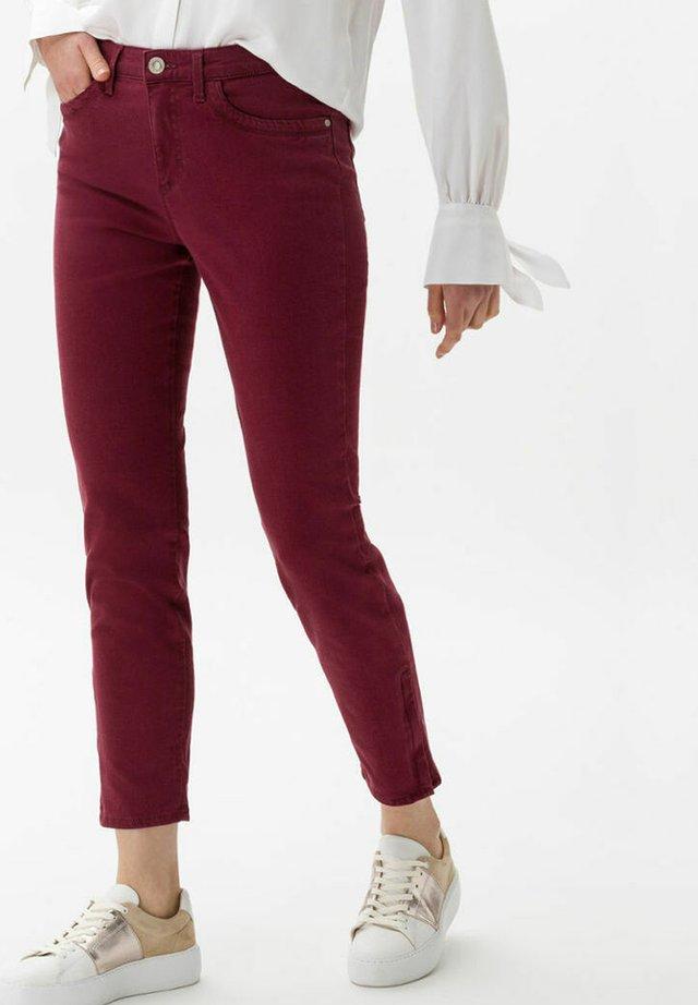 Jeans slim fit - raisin