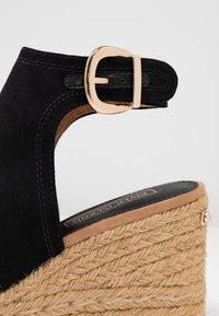 River Island - Højhælede sandaletter / Højhælede sandaler - black - 2