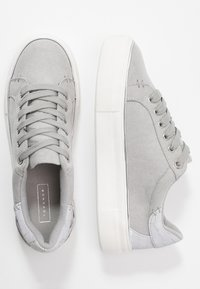 Topshop - CLOVER LACE UP TRAINER - Trainers - grey - 3