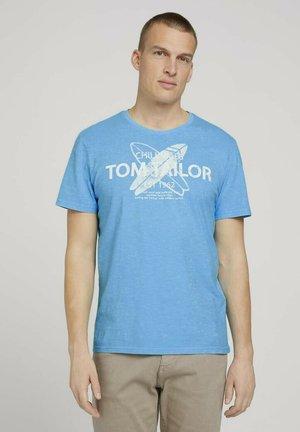 T-shirt print - aquarius turquoise