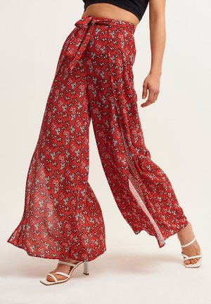 Trousers - floral print