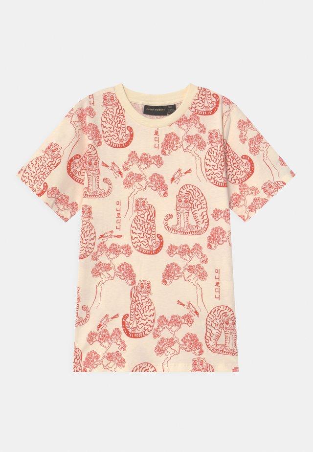 TIGERS UNISEX - T-shirt print - offwhite