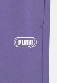 Puma - REBEL UNISEX - Teplákové kalhoty - hazy blue - 2