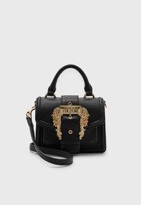 Versace Jeans Couture - GRANA BUCKLE HANDBAG - Handbag - nero - 0
