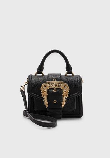 GRANA BUCKLE HANDBAG - Handbag - nero