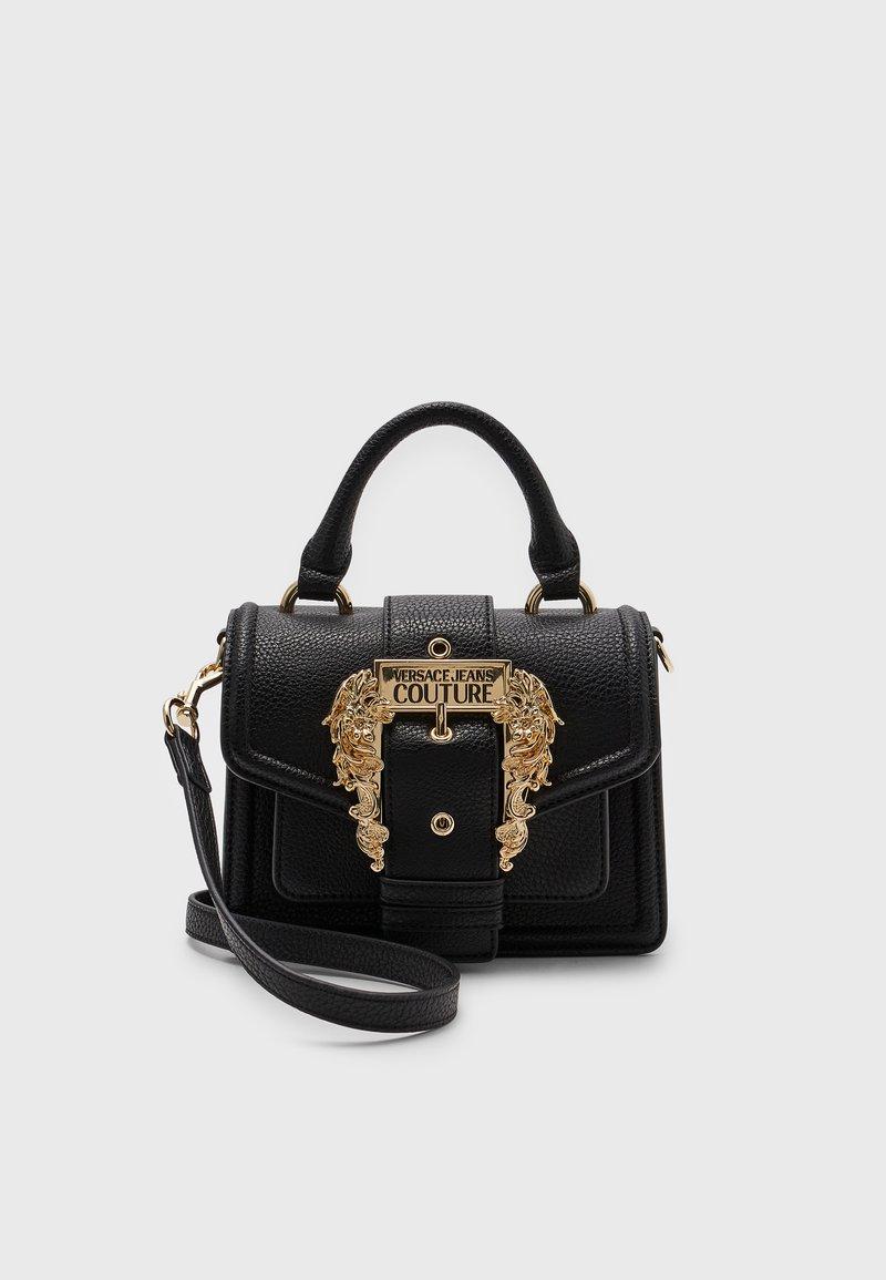 Versace Jeans Couture - GRANA BUCKLE HANDBAG - Handbag - nero