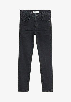 SLIM - Slim fit jeans - black denim