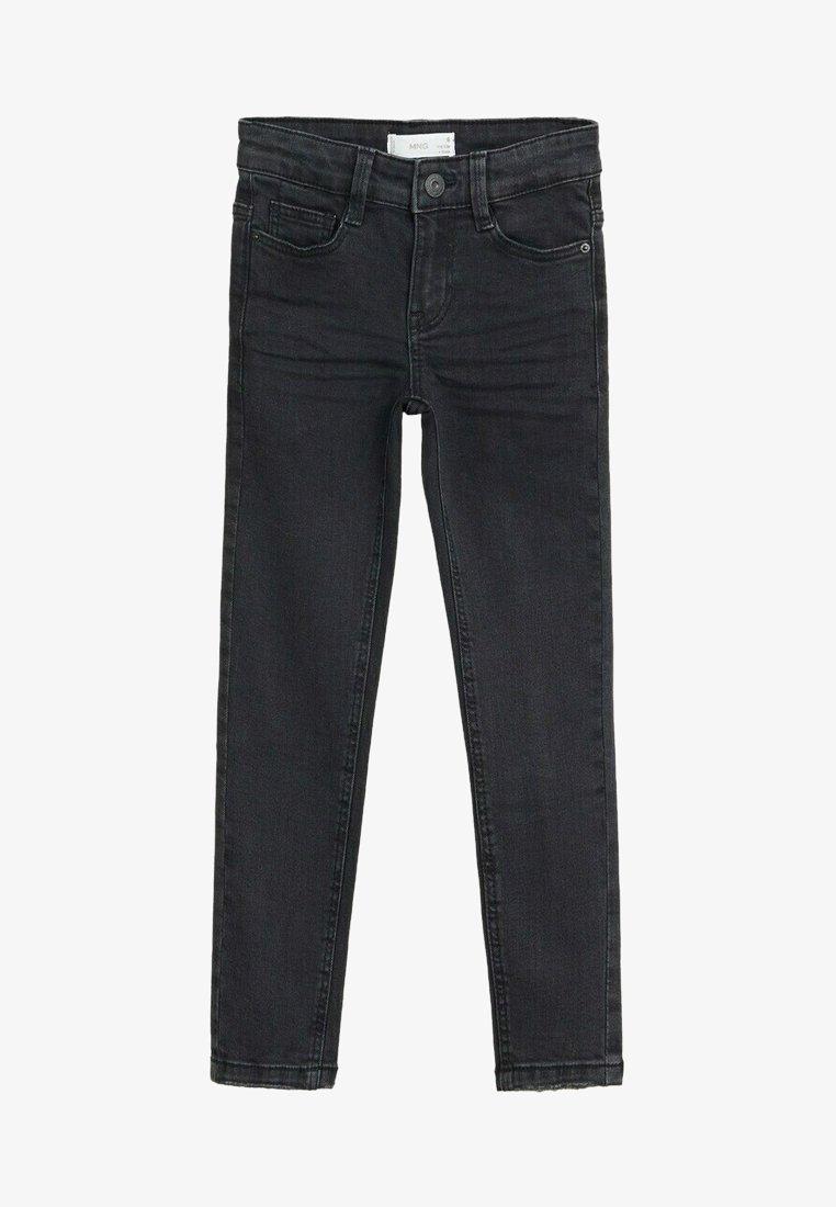Mango - SLIM - Slim fit jeans - black denim