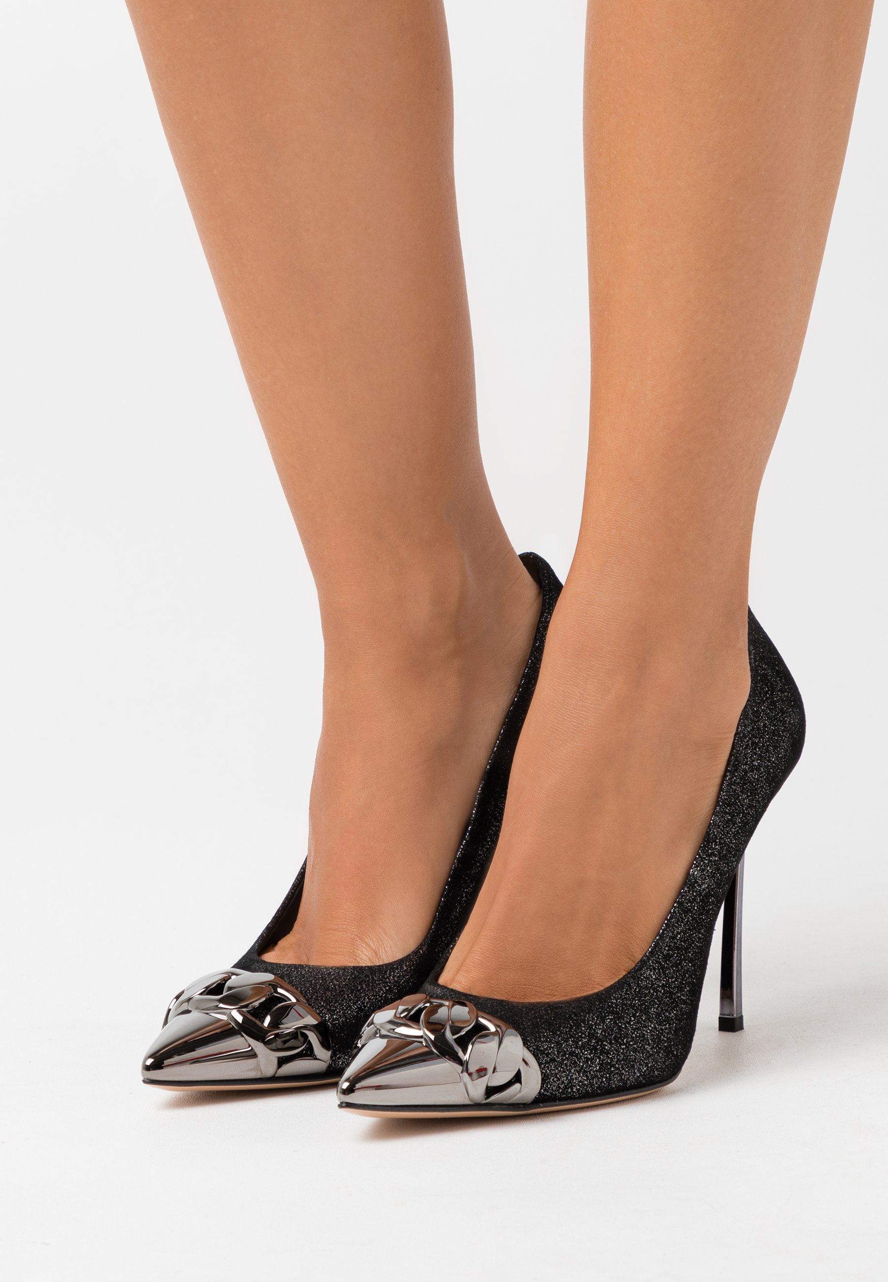 Wholesale Women's Shoes Casadei High heels dark phoenik gunmetal CCCOf1QnJ