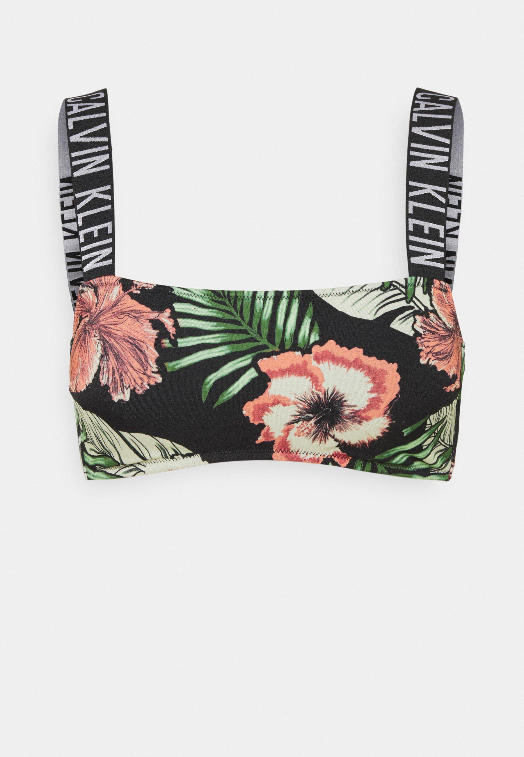 Women INTENSE POWER BANDEAU PRINT - Bikini top