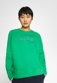 Tommy Hilfiger - RELAXED SCRIPT - Sweatshirt - primary green - 0
