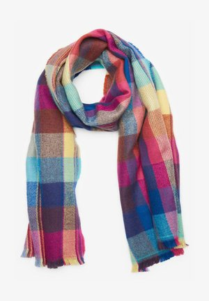 BRIGHT CHECK MID WEIGHT - Scarf - multi coloured