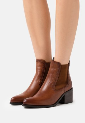 LADIES  - Ankle boots - camel