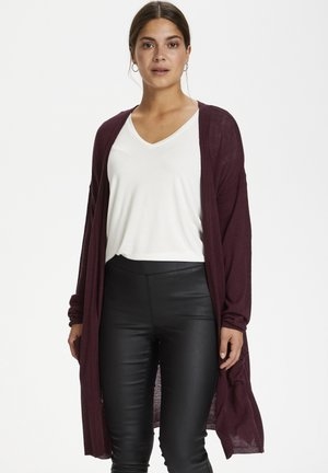 SANDRA CARDIGAN - Strickjacke - port royale