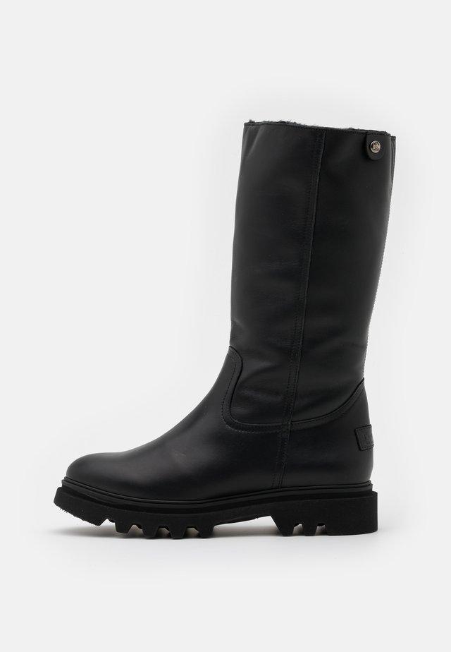 TULIA - Stivali alti - black