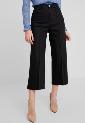 NIGHT PANT SUSTAINABLE - Trousers - black