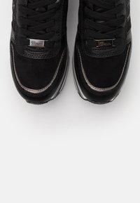 TOM TAILOR DENIM - Zapatillas - black - 5