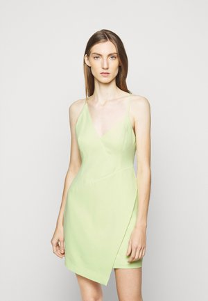 EVE SHORT DRESS - Koktejlové šaty / šaty na párty - light green