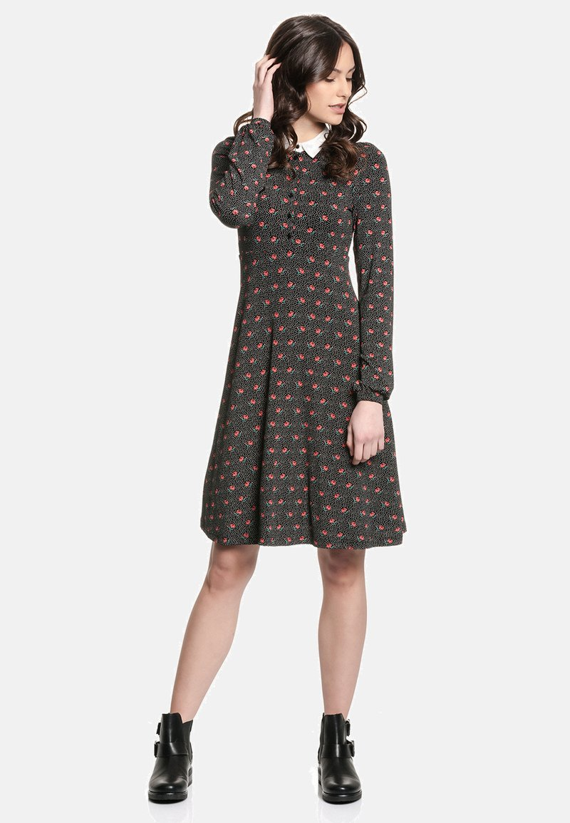 Vive Maria - SWEET ROSE SCHOOL  - Day dress - schwarz allover