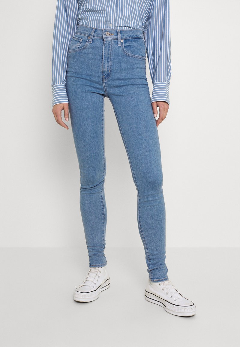 Levi's® - MILE HIGH SUPER SKINNY - Jeans Skinny Fit - naples stone