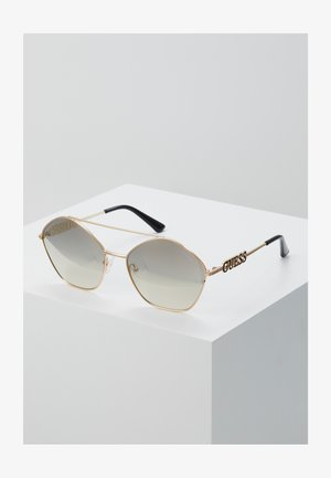Sunglasses - metallic grey