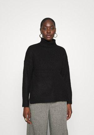 Long line seam detail - Pullover - black