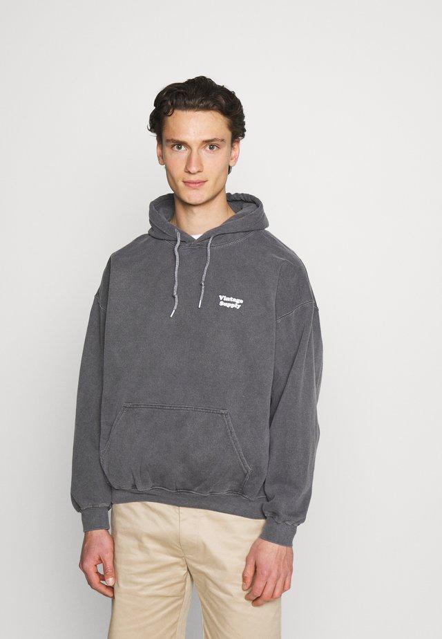 CORE OVERDYE HOODIE - Sweater - grey