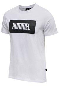Hummel - 2-PACK - Print T-shirt - black/white - 3