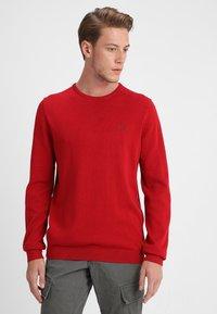 s.Oliver - LANGARM - Jumper - uniform red - 0