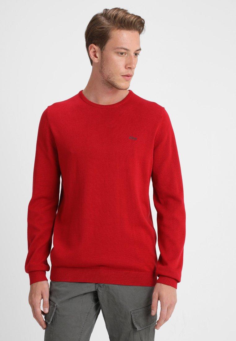 s.Oliver - LANGARM - Jumper - uniform red