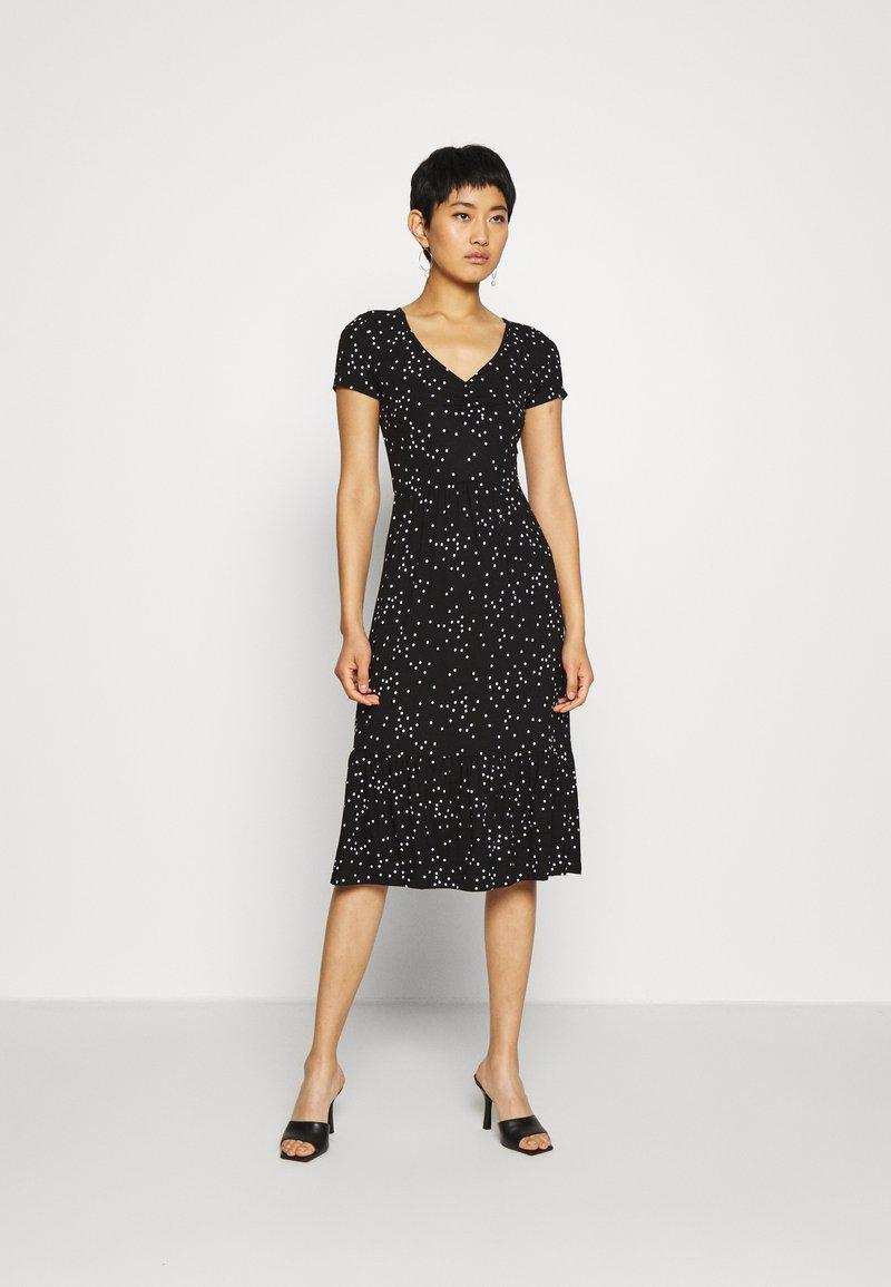 Anna Field - Denní šaty - black/white