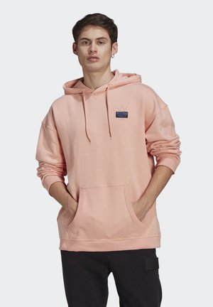 ABSTRACT HOODY UNISEX - Luvtröja - dust pink
