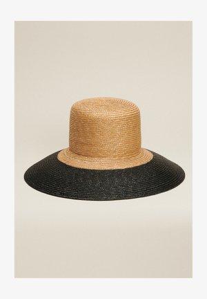 RAMA - Sombrero - cammello nero