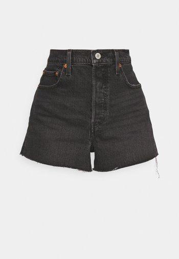 RIBCAGE - Short en jean - grey denim