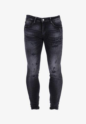 POWERC - Jean slim - black