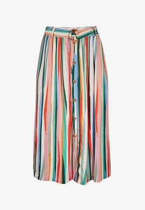 A-line skirt - multicolored