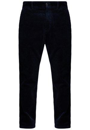 MENSON PANT - Trousers - dark navy rinsed