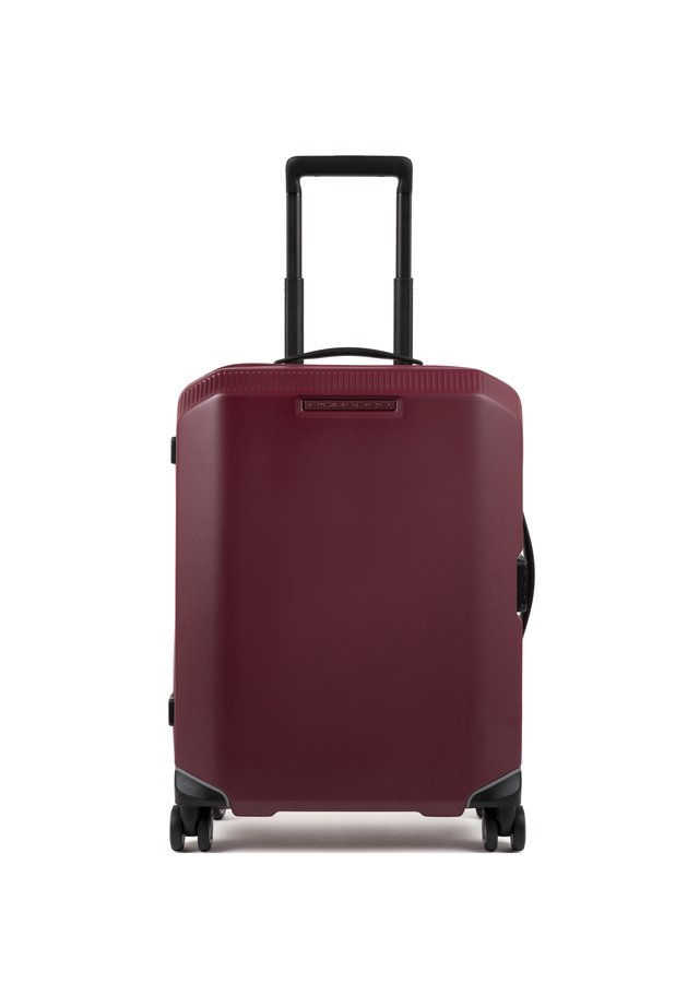 Wheeled suitcase - burgundy
