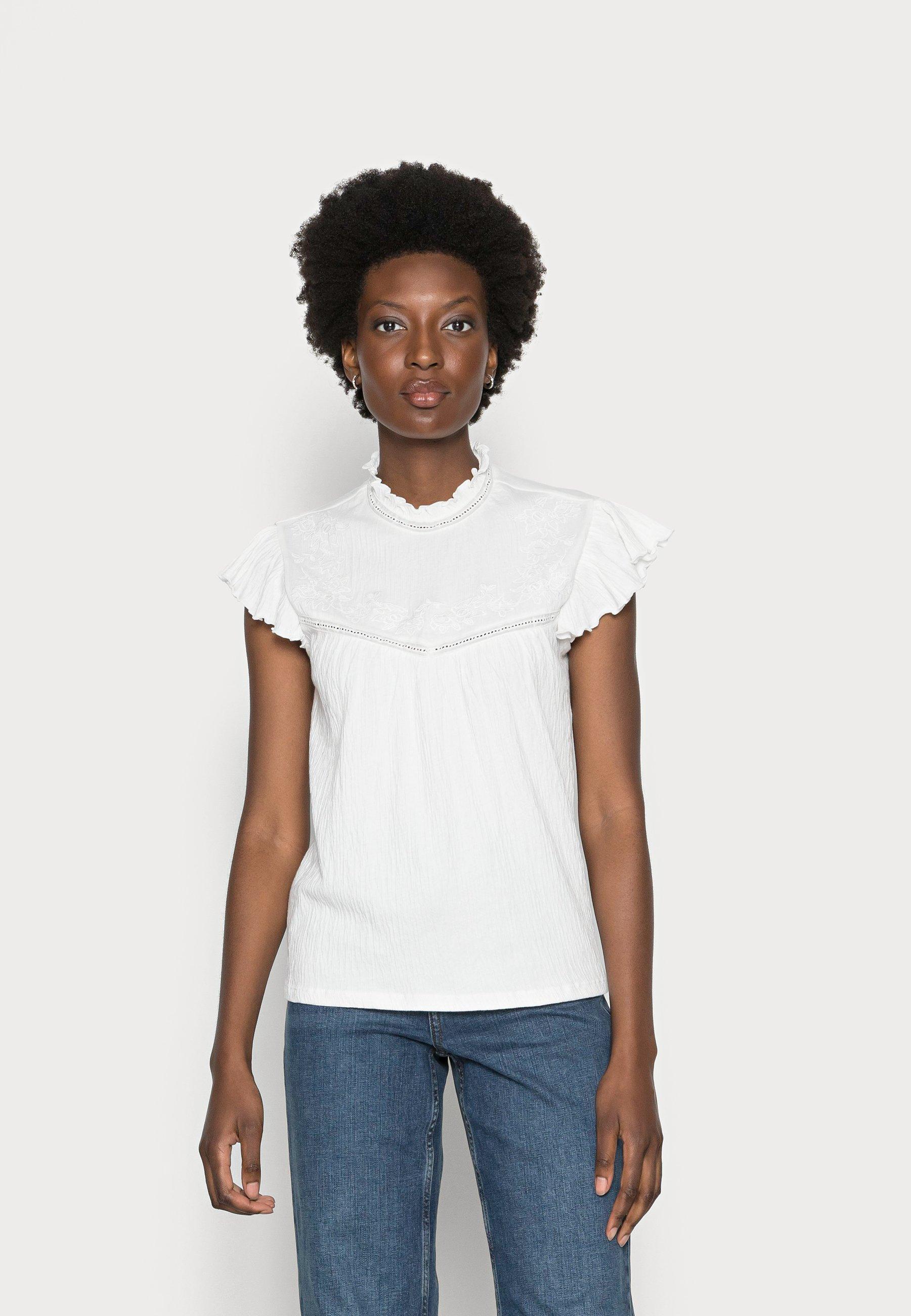 Women CREPE - Basic T-shirt