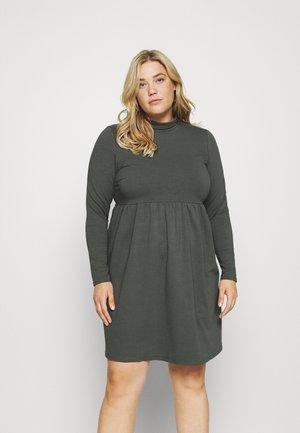 SMOCK DRESS - Denní šaty - grey